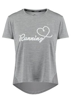 Nike Performance - RUNNING - T-Shirt print - grey