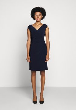 Lauren Ralph Lauren - MID WEIGHT DRESS - Vestido de tubo - lighthouse navy