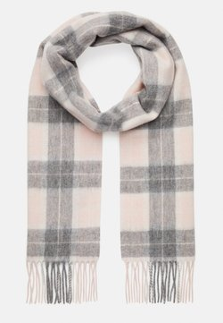 Barbour - SET - Scarf - pink/grey tartan