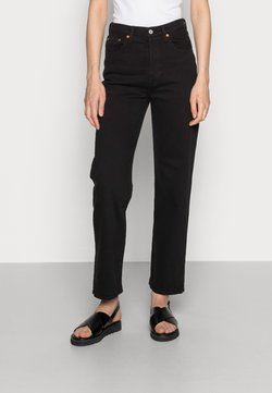Levi's® - RIBCAGE STRAIGHT ANKLE - Jeans straight leg - black heart