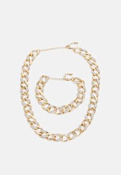Urban Classics - BASIC NECKLACE AND BRACELET SET - Collier - gold-coloured
