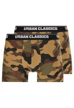 Urban Classics - BOXER 2 PACK - Shorty - wood