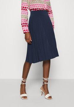Anna Field - Plisse A-line mini skirt - Falda acampanada - maritime blue