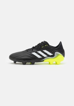 adidas Performance - COPA SENSE.2 FG - Moulded stud football boots - core black/footwear white/solar yellow