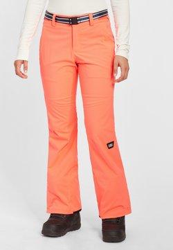 O'Neill - STAR SLIM PANTS - Skibroek - fiery coral