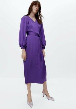 Uterqüe - Fodralklänning - purple