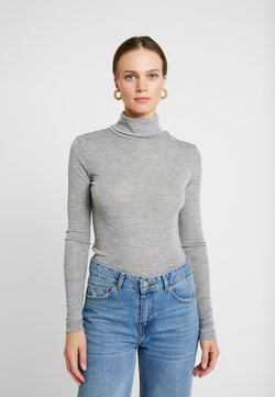 Gestuz - WILMA ROLLNECK - Trui - light grey