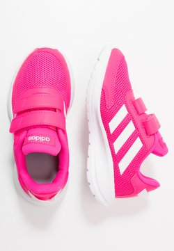 adidas Performance - TENSAUR RUN UNISEX - Obuwie do biegania treningowe - shock pink/footwear white/shock red