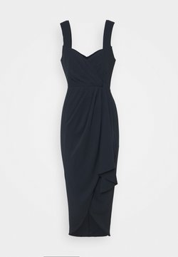 Forever New - HADLEY WATERFALL MIDI DRESS - Sukienka koktajlowa - navy