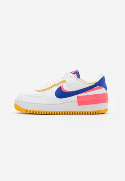 Nike Sportswear - AIR FORCE 1 SHADOW - Sneaker low - summit white/astronomy blue/flash crimson/dark sulfur/summit white