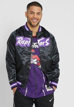 Mitchell & Ness - NBA TORONTO RAPTORS LIGHTWEIGHT JACKET - Vereinsmannschaften - black