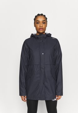 CMP - RAIN JACKET FIX HOOD - Outdoorjacke - antracite