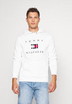 Tommy Hilfiger - FLAG HOODY - Sweat à capuche - white
