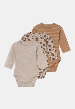 Hust & Claire - BASE 3 PACK UNISEX - Body - wheat