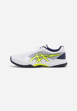 ASICS - GEL-GAME 7 - Scarpe da tennis per tutte le superfici - white/safety yellow