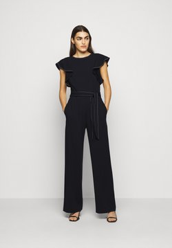 Lauren Ralph Lauren - LUXE TECH CREPE-JUMPSUIT - Combinaison - lighthouse navy