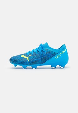 Puma - ULTRA 3.2 FG/AG - Moulded stud football boots - energy blue/yellow alert