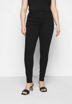 Selected Femme Curve - SLFINA - Jeans Skinny Fit - black denim