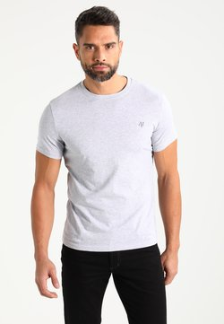 Marc O'Polo - C-NECK - T-Shirt basic - grey