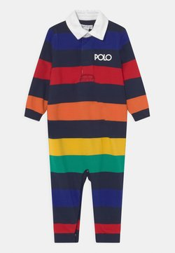 Polo Ralph Lauren - ONE PIECE COVERALL - Jumpsuit - rainbow/navy