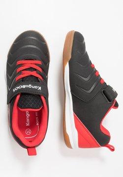 KangaROOS - SPEED COMB - Sneakers laag - jet black/fiery red