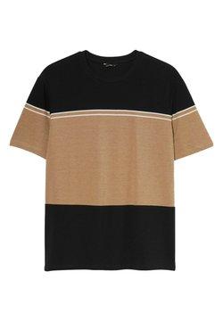 C&A - T-Shirt print - orange / dark blue