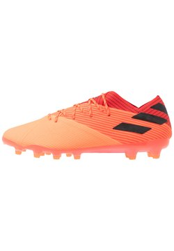 adidas Performance - NEMEZIZ 19.1 AG - Moulded stud football boots - signal coral/core black/red