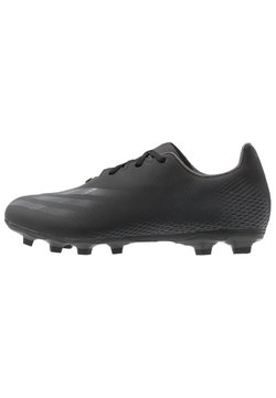 adidas Performance - X GHOSTED.4 FOOTBALL FIRM GROUND - Moulded stud football boots - core black/grey six