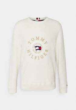 Tommy Hilfiger - STRUCTURED GRAPHIC - Strickpullover - ivory