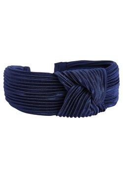 Next - NAVY STRIPE CORD HEADBAND - Haar-Styling-Accessoires - blue