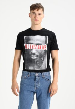 Mister Tee - 2PAC ALL EYEZ ON ME - T-shirt con stampa - black