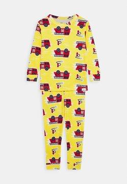 GAP - TODDLER BOY FIRETRCK SET - Pyjamas - canary yellow