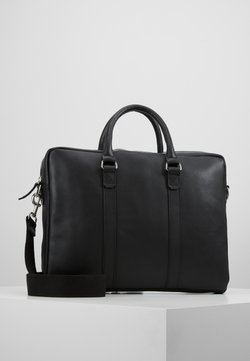 Pier One - LEATHER - Portfölj - black