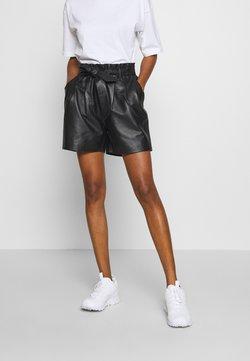 Object - OBJSTAR - Pantalon en cuir - black