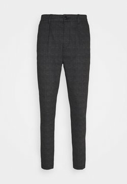 Kronstadt - CLUB TEXTURE PANTS - Stoffhose - prince of wales