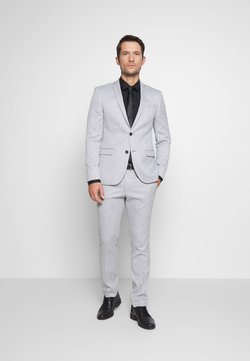 Ben Sherman Tailoring - COOL STRUCTURE SUIT SKINNY FIT - Anzug - grey