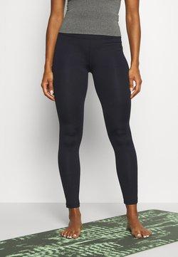 Curare Yogawear - LEGGINGS HIGH WAIST - Tights - midnight blue
