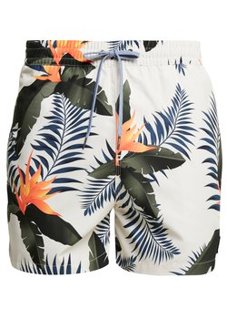 Quiksilver - POOLSIDER VOLLEY - Badeshorts - antique white
