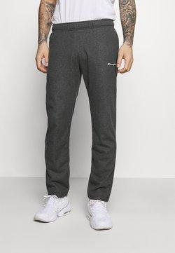 Champion - STRAIGHT HEM PANTS - Jogginghose - mottled dark grey