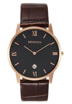 Sekonda - GENTS WATCH ROUND CASE - Montre - brown