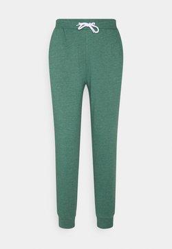 Even&Odd - Regular Fit Jogger with contrast cord - Jogginghose - mottled dark green