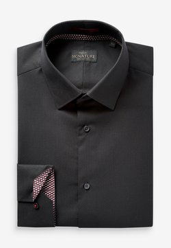 Next - SIGNATURE - Businesshemd - black