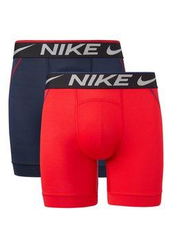 Nike Underwear - 2 PACK - Panties - university red / obsidian
