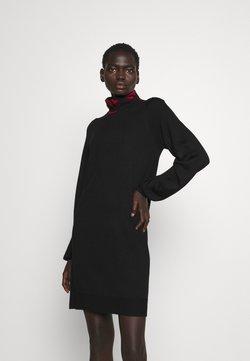 Love Moschino - Vestido de punto - black/red