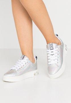 Guess - RIVET - Sneakers - argent