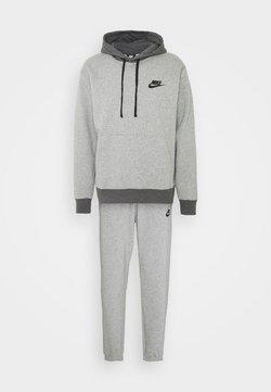 Nike Sportswear - SUIT BASIC SET - Træningsjakker - dark grey heather/charcoal heather/black