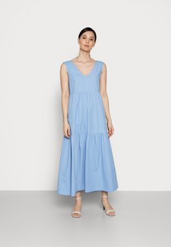 Love Copenhagen - WILSKA DRESS - Maxikleid - bel air blue