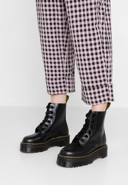 Dr. Martens - MOLLY - Bottines à plateau - black