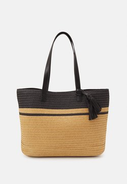 Anna Field - Shoppingväska - black/beige
