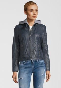 Gipsy - TALIDA - Leren jas - denim blue
